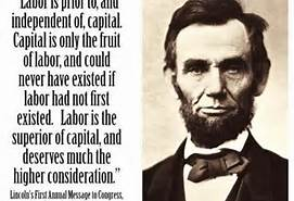 lincoln on labor