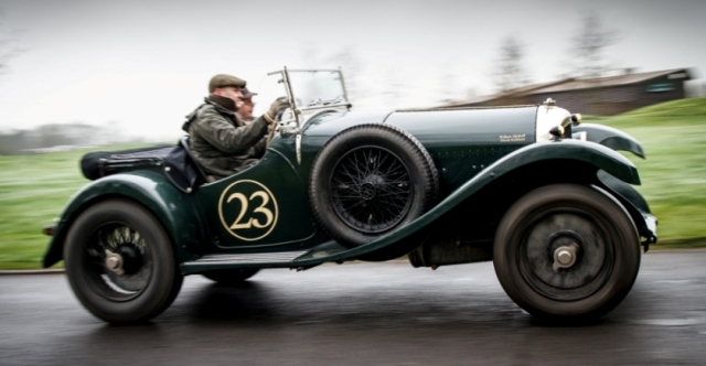 In this year's Flying Scotsman Rally, a team from the south won the three-day 600-mile event. Driver William Medcalf and navigator David Kirkham crossed the finish line at Gleneagles, north of Edinburgh, in their Bentley Super Sports to claim the win.