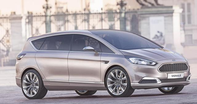 Ford unveiled the new S MAX Vignale Concept in Milan.