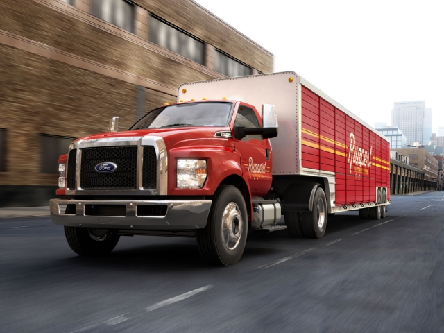 F-650/F-750 Join Lineup of America's Best-Selling Commercial Trucks