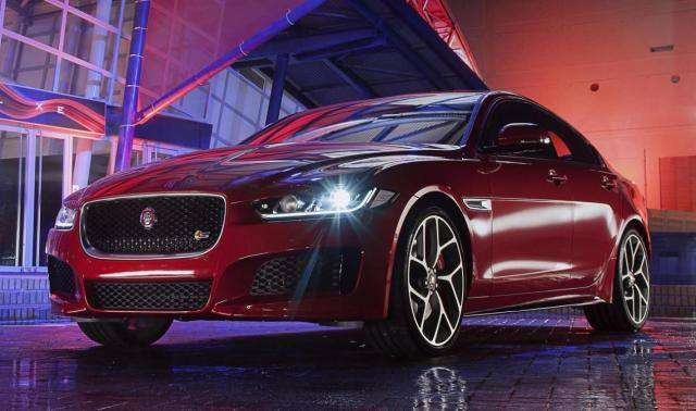 The Jaguar XE has been revealed to the world at a star-studded event held at Earls Court, London. The XE goes on sale in 2015, with the high-performance S model at the top of the range.