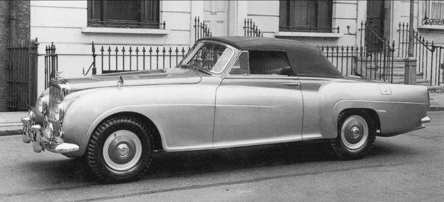 "The car that James Bond ""loved more than all the women in his life"" will be among an array of stunning Bentleys exhibited at the Hampton Court Concours of Elegance. The 1954 R-Type Continental Drophead Coupe is the car thought to have inspired author Ian Fleming to give his agent such a model in his novel Thunderball."