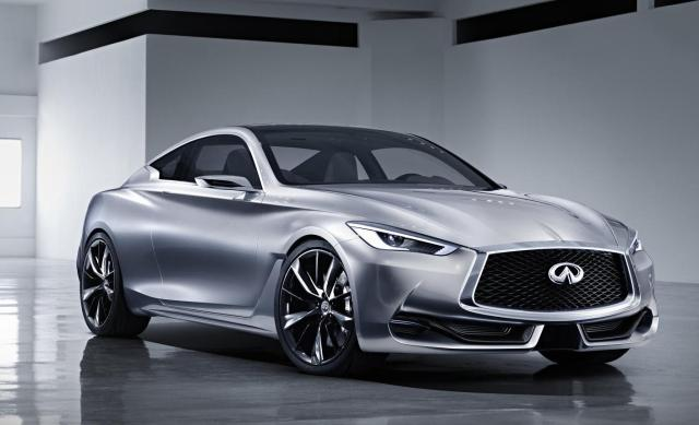 Ahead of the 2015 North American International Auto Show in Detroit, Infiniti raises the curtain on its vision of a premium sports coupe: the striking Q60 Concept.