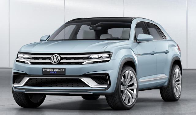 Volkswagen has unveiled a new five-seater midsize SUV concept car at the North American International Auto Show in Detroit.  Called the Cross Coupé GTE, it is a plug-in hybrid with all-wheel drive.